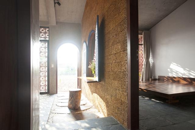 Ngôi nhà ở Nam Định lấy cảm hứng từ cây chuối - Ảnh 9.