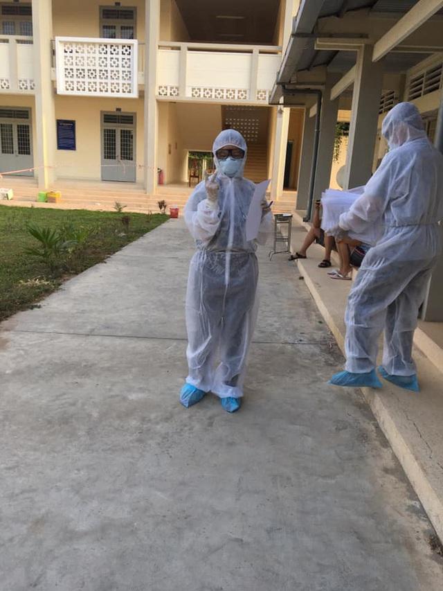 Nữ sinh viên trường Y tình nguyện làm việc ở khu cách ly: Người tuyến đầu chống dịch còn không sợ chết thì mình sợ cái gì? - Ảnh 3.