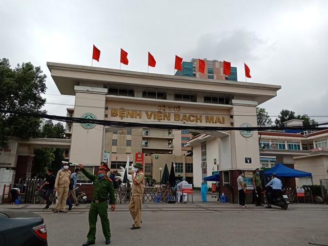 Chủ tịch Hà Nội nhẹ nhõm công bố loạt số liệu liên quan ổ dịch Bệnh viện Bạch Mai  - Ảnh 2.