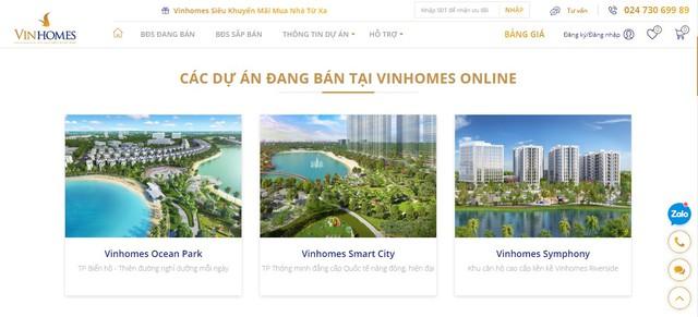 Vinhomes ra mắt sàn giao dịch BĐS trực tuyến: Khách hàng có thể online mua nhà giá gốc, chỉ cần 4 thao tác là hoàn tất giao dịch - Ảnh 1.