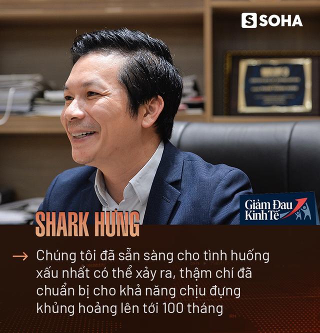 Shark Hưng: Chúng tôi đã chuẩn bị cho khả năng chịu đựng khủng hoảng lên tới 100 tháng! - Ảnh 3.