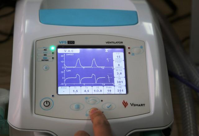 Đo lường thử nghiệm thành công máy thở do Vingroup sản xuất - Ảnh 1.