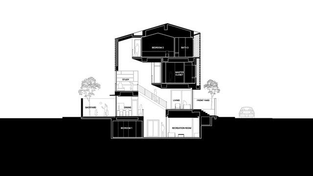 Bị hạn chế chiều cao, ngôi nhà ở TP HCM làm thêm một tầng hầm xa xỉ - Ảnh 10.