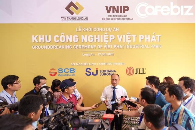 Tỉnh Long An sốt sắng trước cơ hội đón đầu làn sóng dịch chuyển sản xuất khỏi Trung Quốc: Khởi công xây dựng 2 khu công nghiệp trong vài ngày, có một trong những KCN lớn nhất nước rộng 1.800ha - Ảnh 2.