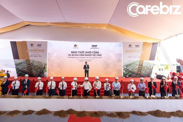 Tỉnh Long An sốt sắng trước cơ hội đón đầu làn sóng dịch chuyển sản xuất khỏi Trung Quốc: Khởi công xây dựng 2 khu công nghiệp trong vài ngày, có một trong những KCN lớn nhất nước rộng 1.800ha - Ảnh 1.