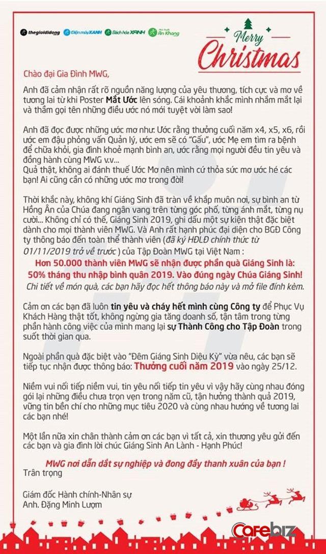 Chủ tịch Nguyễn Đức Tài chia sẻ lý do dù bị giảm lương nhưng nhân viên Thế giới Di động không hề buồn bực hay nói xấu công ty - Ảnh 1.