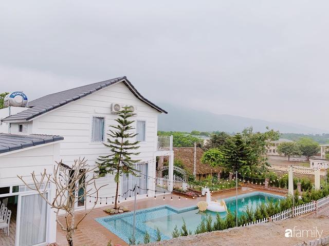 Ngôi nhà vườn 1000m² tọa lạc trên đồi đẹp yên bình với ngoại thất sân vườn rực rỡ sắc màu hoa lá ở Hòa Bình của đôi vợ chồng trẻ - Ảnh 3.