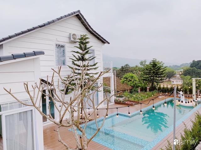 Ngôi nhà vườn 1000m² tọa lạc trên đồi đẹp yên bình với ngoại thất sân vườn rực rỡ sắc màu hoa lá ở Hòa Bình của đôi vợ chồng trẻ - Ảnh 4.