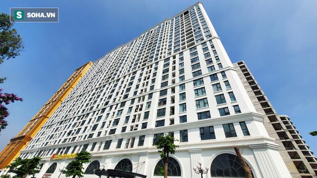 Tòa nhà dát vàng 24K từ chân đến nóc khủng nhất Hà Nội đang hoàn thiện - Ảnh 11.