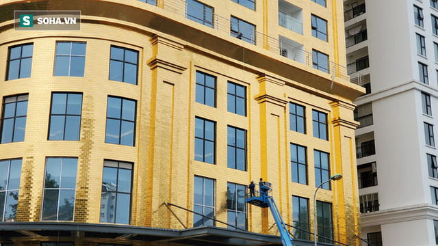 Tòa nhà dát vàng 24K từ chân đến nóc khủng nhất Hà Nội đang hoàn thiện - Ảnh 5.