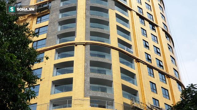 Tòa nhà dát vàng 24K từ chân đến nóc khủng nhất Hà Nội đang hoàn thiện - Ảnh 6.