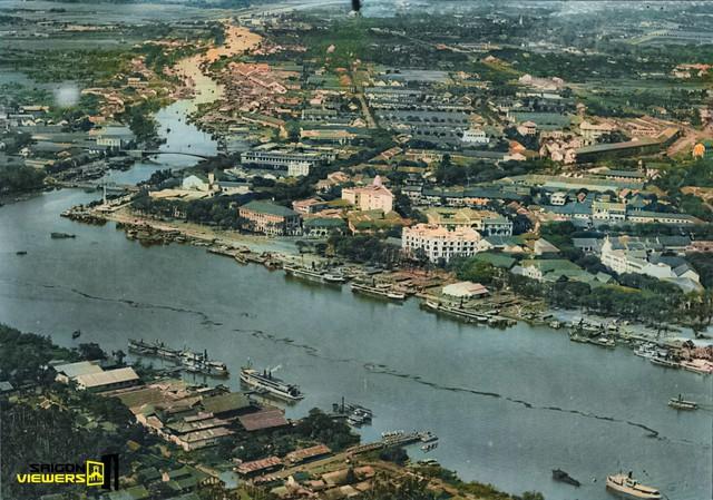 Bộ ảnh phục chế màu Sài Gòn 100 năm trước đang được chia sẻ chóng mặt trên mạng bởi màu xanh ở Nhà thờ Đức Bà nhìn mới đẹp và lạ làm sao - Ảnh 10.