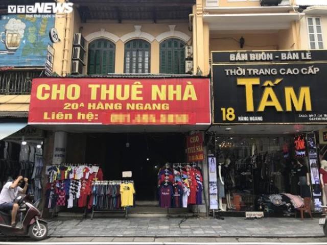 Gần 50% mặt bằng cho thuê ở phố cổ Hà Nội ế ẩm  - Ảnh 1.