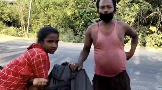 Không có tiền, con gái 15 tuổi đạp xe 1200km chở bố về quê và cái kết bất ngờ - Ảnh 3.