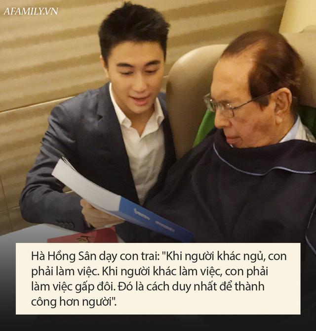 Chỉ 1 câu nói nhưng là bài học khắc cốt ghi tâm giúp con trai ông trùm sòng bạc Macao Hà Hồng Sân thành công hơn người - Ảnh 2.