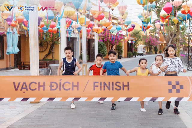 WOW MARATHON HỘI AN 2020: Lần đầu tiên, Race for Kids phiên bản kì thú rộn ràng trên cung đường phố cổ đẹp nhất thế giới - Ảnh 4.