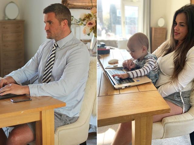 Gần một nửa dân văn phòng Mỹ không thèm mặc...quần khi làm việc trực tuyến tại nhà mùa COVID-19 - Ảnh 1.