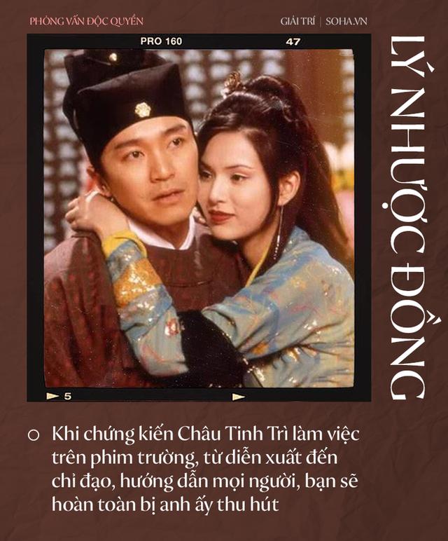 Lý Nhược Đồng nói về tình cảm dành cho Dương Quá, Cổ Thiên Lạc và người đặc biệt Châu Tinh Trì - Ảnh 8.
