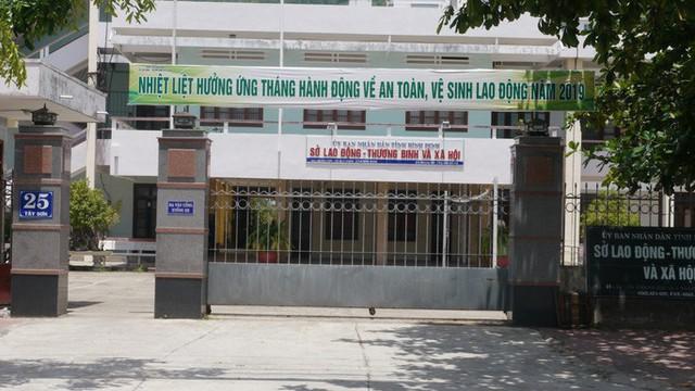 Buộc thôi việc vợ nguyên Phó Giám đốc Sở LĐ-TB-XH Bình Định vừa bị bắt  - Ảnh 1.