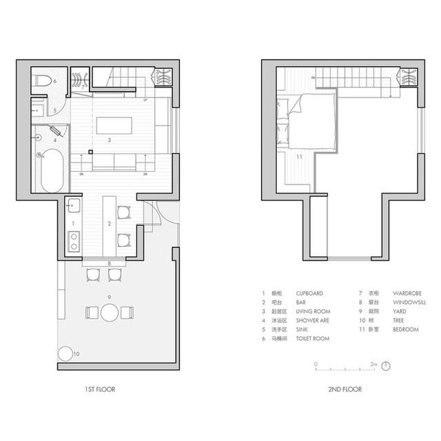 Cận cảnh căn hộ 25m2 nhưng có cả sân và quán bar, vô cùng hiện đại, tiện nghi - Ảnh 15.
