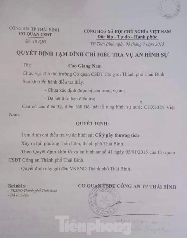 Đề nghị truy tố Đường Nhuệ tội đánh người tại trụ sở Công an phường - Ảnh 1.