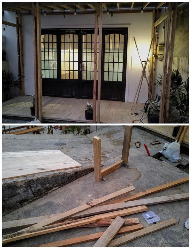 Chán phòng trọ nóng bức chật chội ở thành phố, cặp vợ chồng vay 350 triệu lên Đà Lạt cải tạo nhà cũ theo phong cách tối giản kiểu Nhật vừa ở vừa kinh doanh - Ảnh 5.