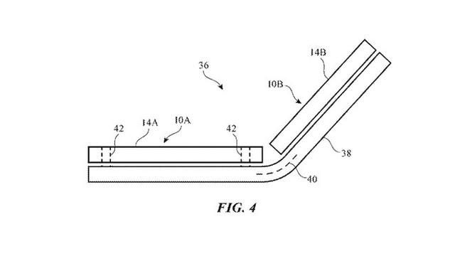Apple cũng đang phát triển một chiếc iPhone màn hình gập, nhưng không giống Samsung Galaxy Fold - Ảnh 1.