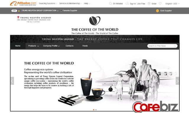 Xuất khẩu giảm sút vì Covid-19, Trung Nguyên mở siêu thị cà phê trên Amazon, Alibaba - Ảnh 1.