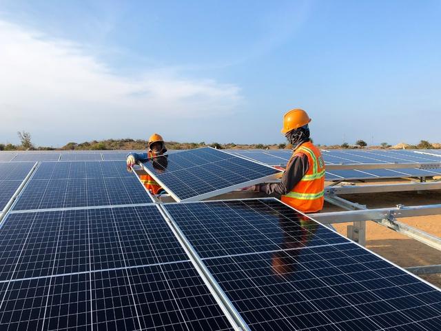 T&T Group của Bầu Hiển khánh thành Nhà máy điện mặt trời 1.000 tỷ đồng tại Ninh Thuận - Ảnh 2.