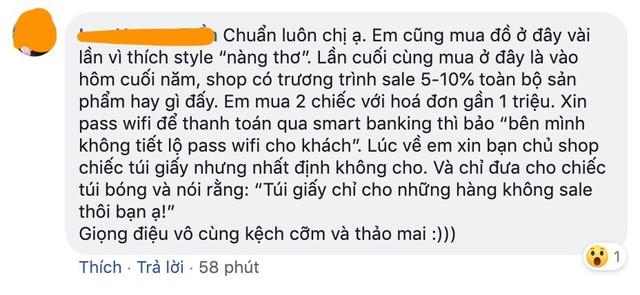 """Hỏi chấm với cách phục vụ của một thương hiệu thời trang Hà Nội: Luôn miệng gọi khách """"bạn mến thương"""" nhưng phía sau là lời lẽ phản cảm, xéo xắt - Ảnh 4."""