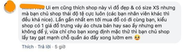"""Hỏi chấm với cách phục vụ của một thương hiệu thời trang Hà Nội: Luôn miệng gọi khách """"bạn mến thương"""" nhưng phía sau là lời lẽ phản cảm, xéo xắt - Ảnh 5."""