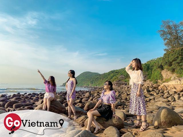 Cách Hà Nội 4 giờ đồng hồ, biển Bãi Đông vừa sạch vừa vắng chi phí chỉ 1 triệu quá hợp lý cho 2 ngày cuối tuần - Ảnh 12.