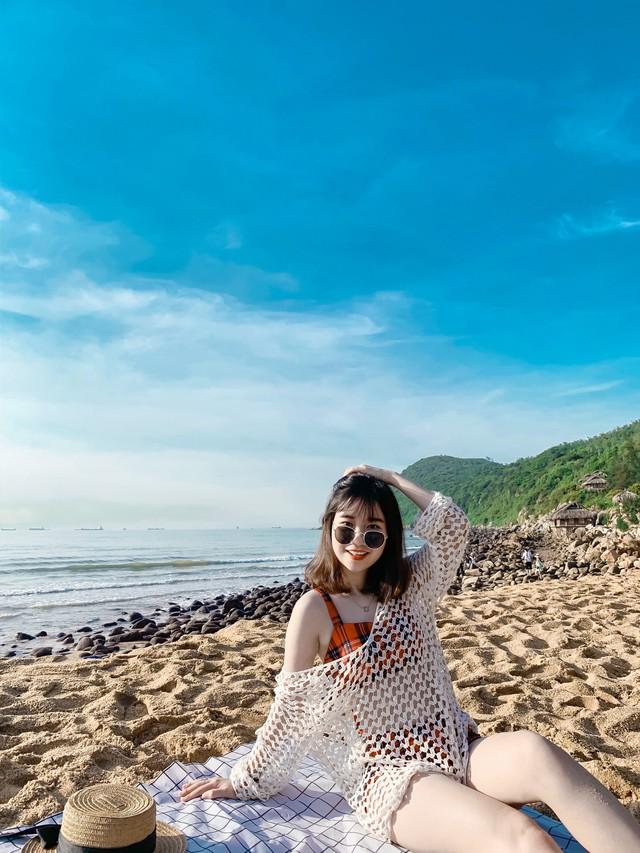 Cách Hà Nội 4 giờ đồng hồ, biển Bãi Đông vừa sạch vừa vắng chi phí chỉ 1 triệu quá hợp lý cho 2 ngày cuối tuần - Ảnh 6.