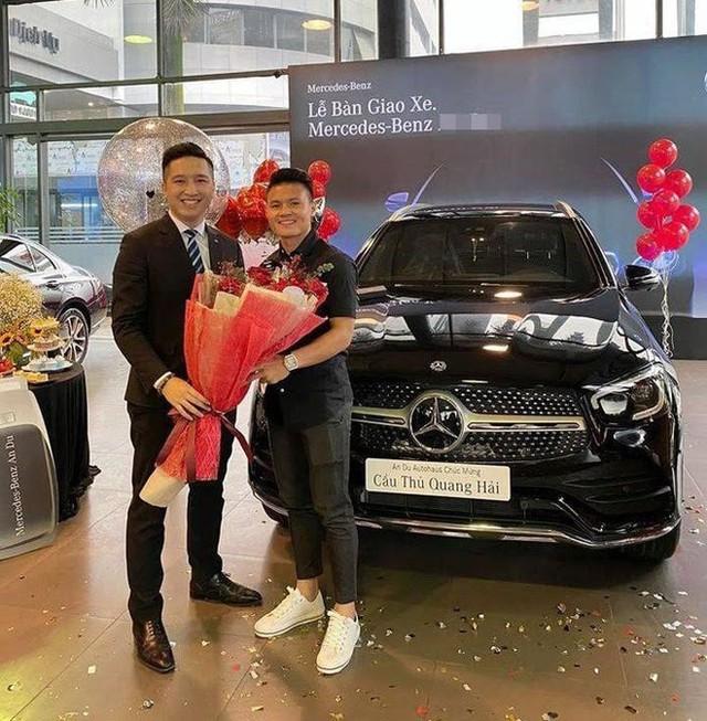 Soi xe sang Mercedes trị giá 2,4 tỷ của cầu thủ Quang Hải  - Ảnh 3.