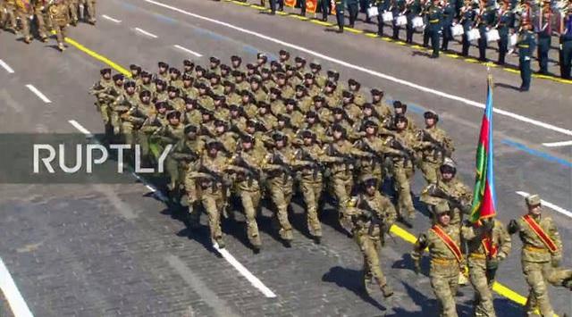 Mãn nhãn với màn duyệt binh hoành tráng nước Nga mừng 75 năm chiến thắng Thế chiến II: 14.000 binh sĩ, 234 khí tài cơ giới và 75 máy bay - Ảnh 25.
