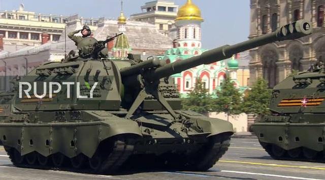 Mãn nhãn với màn duyệt binh hoành tráng nước Nga mừng 75 năm chiến thắng Thế chiến II: 14.000 binh sĩ, 234 khí tài cơ giới và 75 máy bay - Ảnh 36.