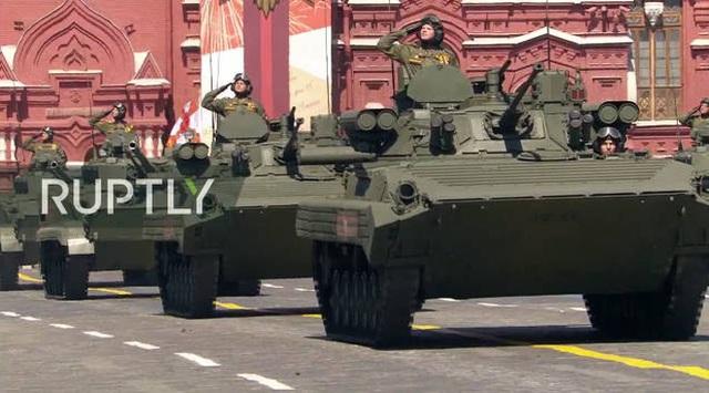 Mãn nhãn với màn duyệt binh hoành tráng nước Nga mừng 75 năm chiến thắng Thế chiến II: 14.000 binh sĩ, 234 khí tài cơ giới và 75 máy bay - Ảnh 37.