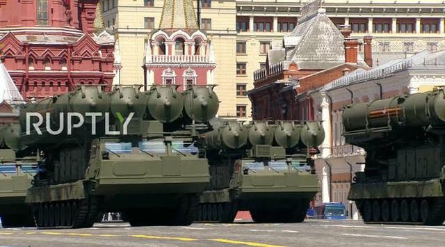 Mãn nhãn với màn duyệt binh hoành tráng nước Nga mừng 75 năm chiến thắng Thế chiến II: 14.000 binh sĩ, 234 khí tài cơ giới và 75 máy bay - Ảnh 42.