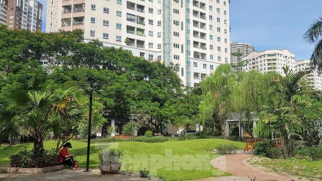 Cận cảnh khu chung cư nghìn căn hộ không phòng sinh hoạt cộng đồng ở Hà Nội - Ảnh 5.