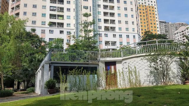 Cận cảnh khu chung cư nghìn căn hộ không phòng sinh hoạt cộng đồng ở Hà Nội - Ảnh 6.