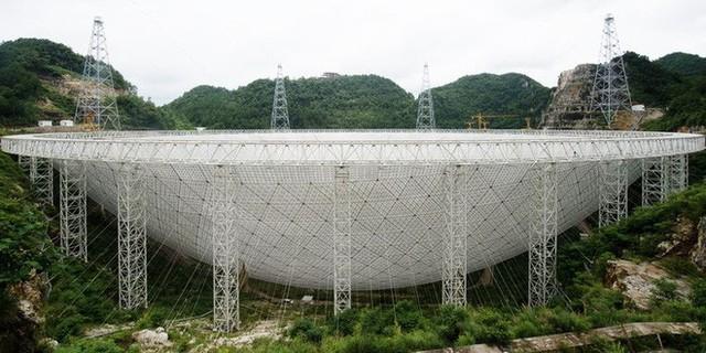 To ngang 30 sân bóng đá, kính viễn vọng lớn nhất thế giới của Trung Quốc bắt đầu sứ mệnh săn lùng người ngoài hành tinh - Ảnh 2.