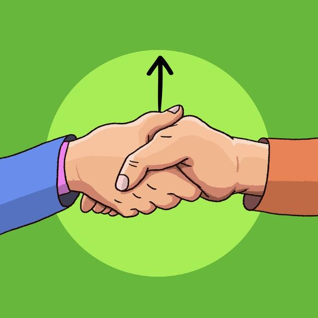 Cách bắt tay cũng chỉ ra tính cách của bạn, rằng bạn là người kiểm soát mọi chuyện hay là dễ bị cuốn theo đối phương - Ảnh 4.
