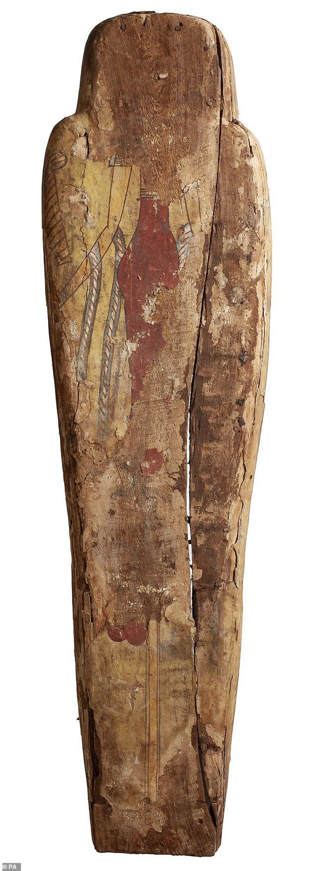 Đưa xác ướp 3.000 năm tuổi của công chúa Ai Cập ra khỏi quan tài, phát hiện bức chân dung bí ẩn cùng hàng loạt câu hỏi chưa có lời giải đáp - Ảnh 3.