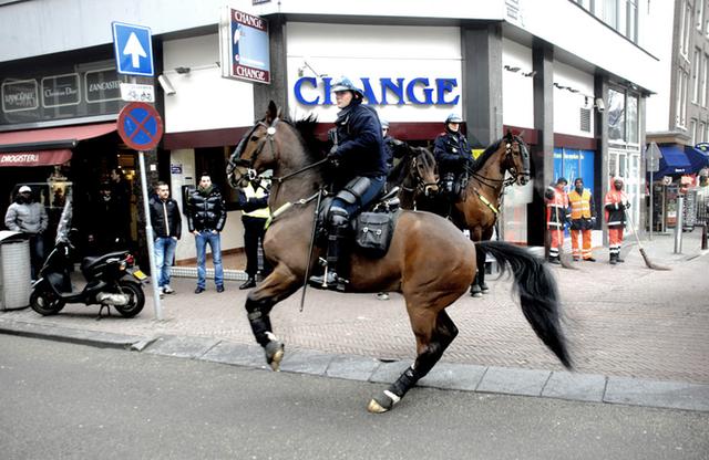 Lợi thế của cảnh sát kị binh ở các nước - Ảnh 4.