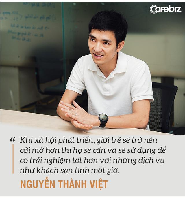 Rời vị trí giám đốc vận hành Uber Hà Nội, Go-Viet Hà Nội, cựu du học sinh 8x khởi nghiệp ứng dụng khách sạn 'tình 1 giờ' với thị trường tiềm năng 1 tỷ USD - Ảnh 5.