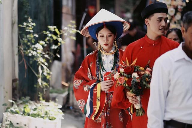 Bộ ảnh cưới cực độc đáo của cặp đôi Cao Bằng nhận bão like chỉ sau 2 giờ đăng tải, chiêm ngưỡng từng tiểu tiết nhỏ mới thấy quá chất - Ảnh 8.