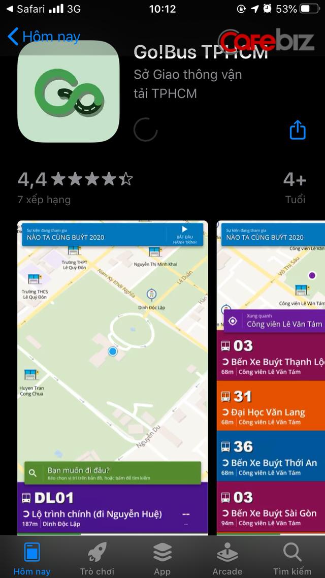 TPHCM tiến thêm một bước trong phát triển đô thị thông minh: Ra mắt ứng dụng Go!Bus, tích hợp vào Grab! - Ảnh 1.