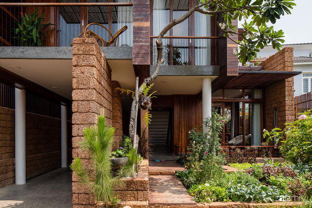 Bố mẹ trẻ xây nhà vườn 300m² giúp các con sống gần gũi với thiên nhiên ở quận Thủ Đức, TP. HCM - Ảnh 13.