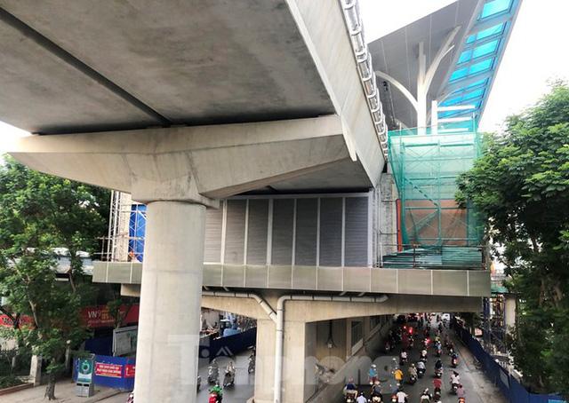 Cận cảnh đoạn metro Hà Nội vừa bị đòi bồi thường 19 triệu USD - Ảnh 3.