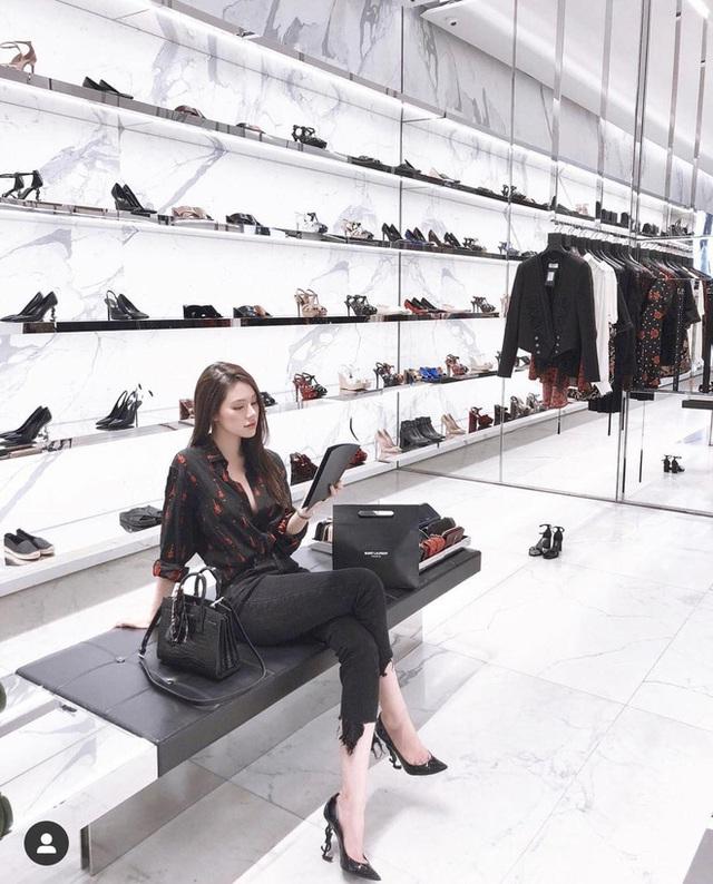 Hoa hậu rich kid Jolie Nguyễn: Vi vu nước ngoài, tậu đồ hiệu mỏi tay, tuyên bố tiêu 500 triệu/tháng không cần đại gia - Ảnh 10.